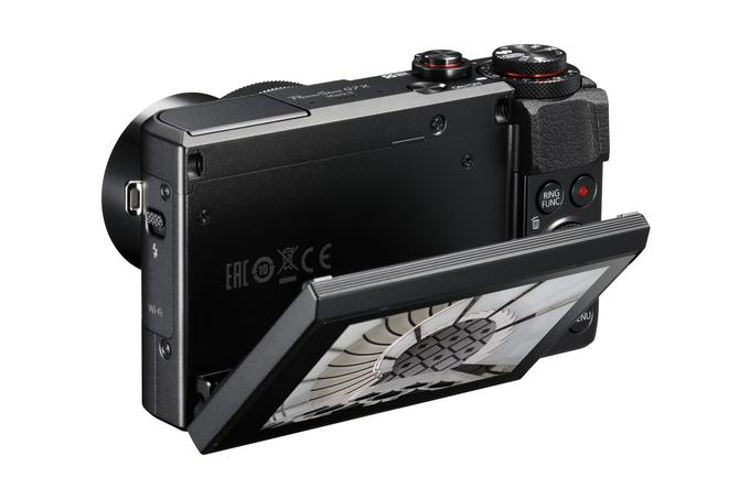 Canon G7 X II tył