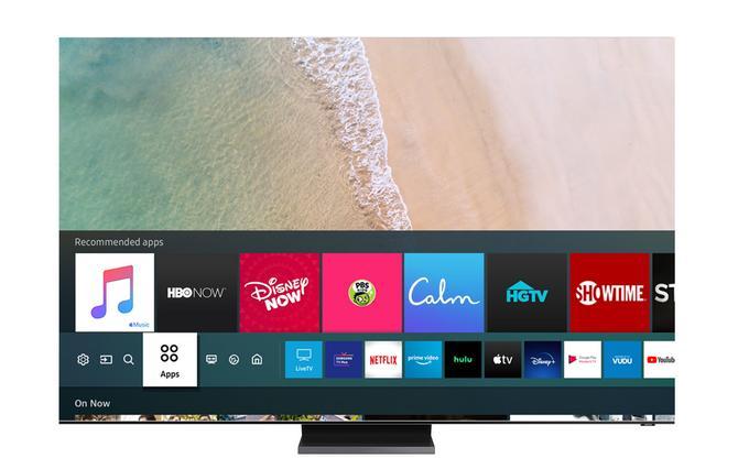 Lista aplikacji dostępnych na systemie smart TV Tizen