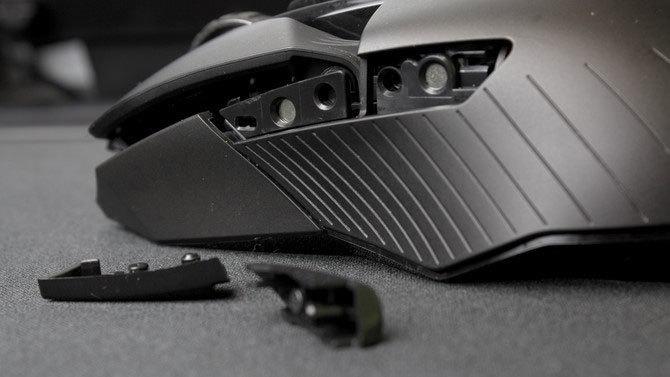 Wymiana Przycisków bocznych w bezprzewodowej myszce gamingowej Logitech.