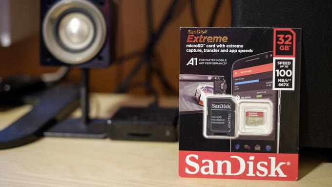 SanDisk Extreme A1
