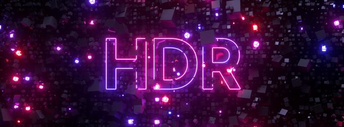 HDR baner