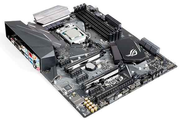 Intel Core i7-7700K na płycie głównejAsus ROG Strix Z270F Gaming
