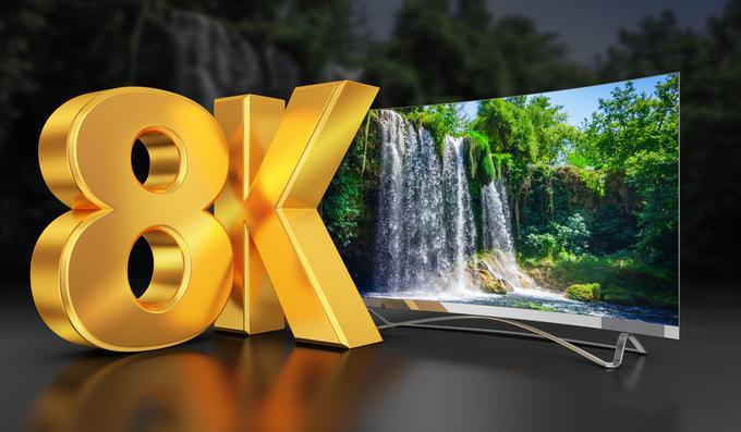 Telewizor 8K w 2020 roku