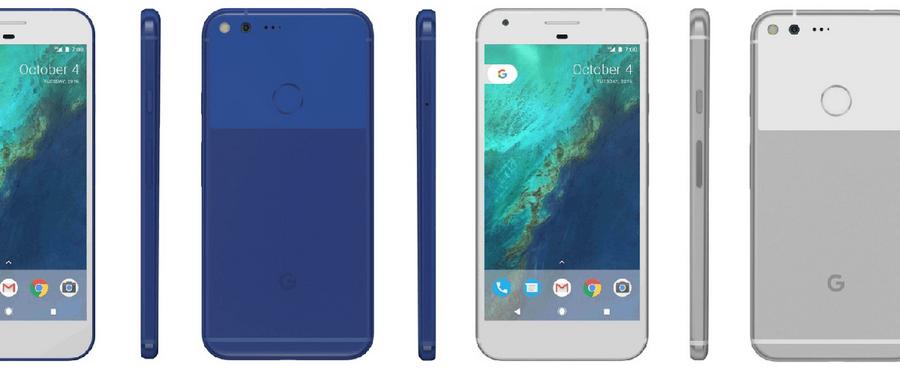 Google Pixel był zaprojektowany wspólnie z HTC