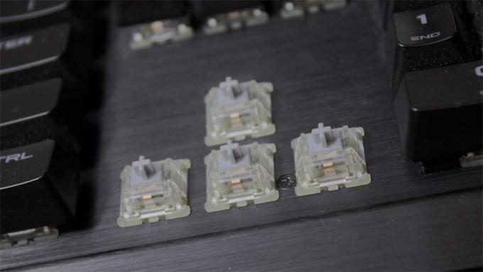 Przełączniki mechaniczne Cherry MX Speed