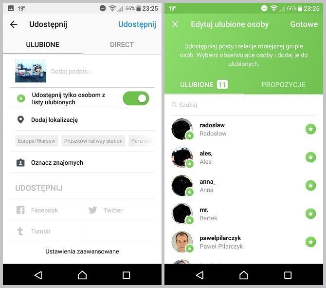 Instagram - nowy mechanizm zarządzania prywatnością postów