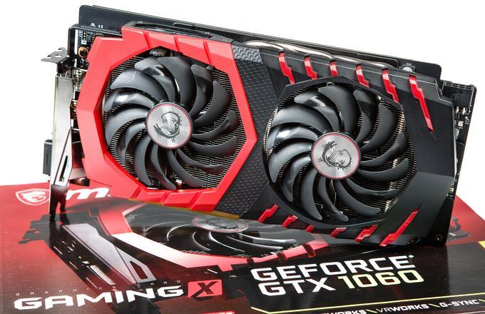 MSI GTX 1060 Gaming X