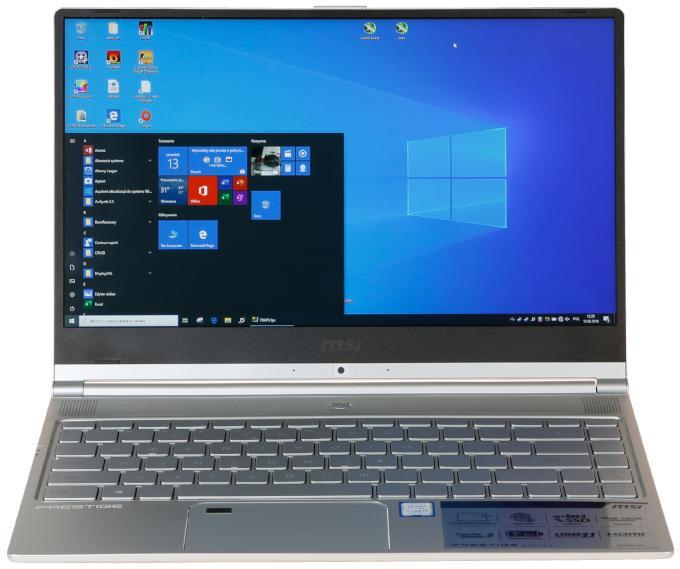 Ekran laptopa ultrabooka MSI