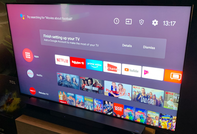 Interfejs Android TV