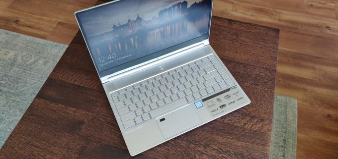 Cienki laptop MSI do 5000 zł