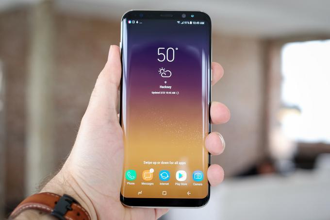 Samsung Galaxy S8 przód
