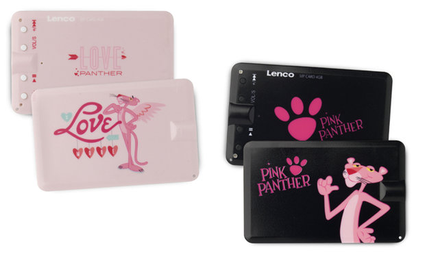 Lenco MPCard Pink Panther 4GB
