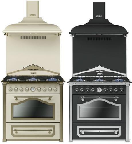 Smeg Cortina CC9GAS  gazowa kuchnia w dawnym stylu  AGDLab pl -> Kuchnia Gazowa Smeg