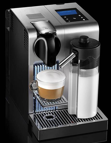 nespresso lattissima pro nowy ekspres do kawy od delonghi. Black Bedroom Furniture Sets. Home Design Ideas