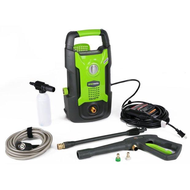 Greenworks Gpw1501 Ciśnieniowa Myjka Przydatna W Każdym