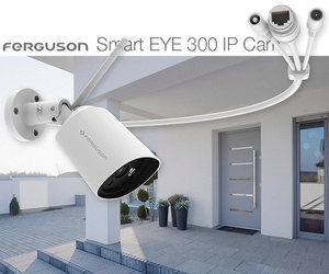 Ferguson SmartHome Smart EYE 300 IP Cam: monitoring w jakości Full HD