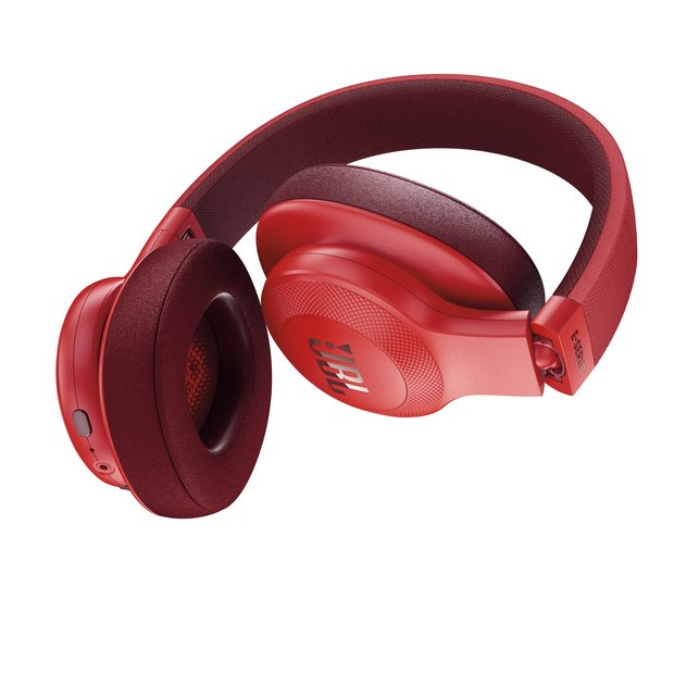 JBL E55BT_folded_red