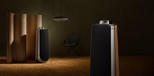 b o beolab 50 nowoczesne kolumny pod ogowe. Black Bedroom Furniture Sets. Home Design Ideas