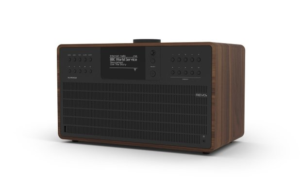 REVO Super-CD-front-Walnut-Black_1