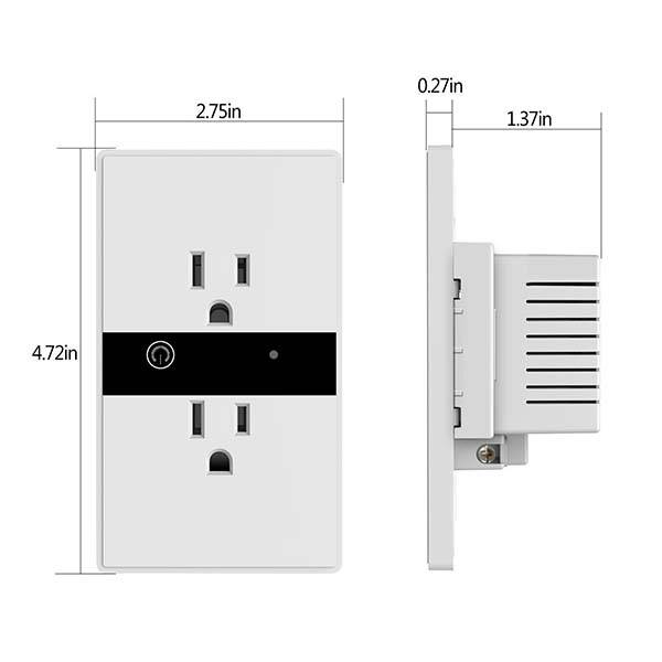 WIFI Smart Wall Outlet1