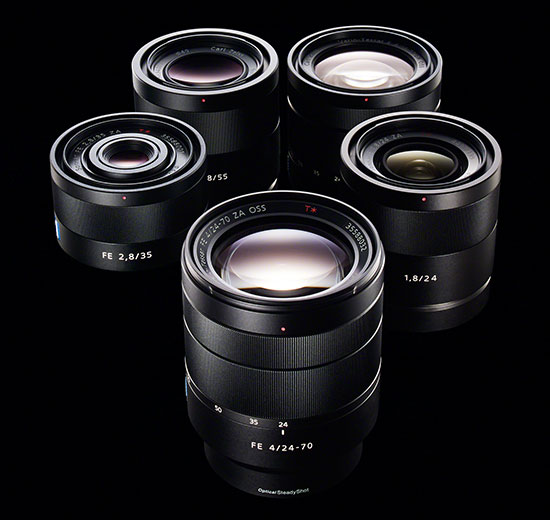 Sony-FE-lenses