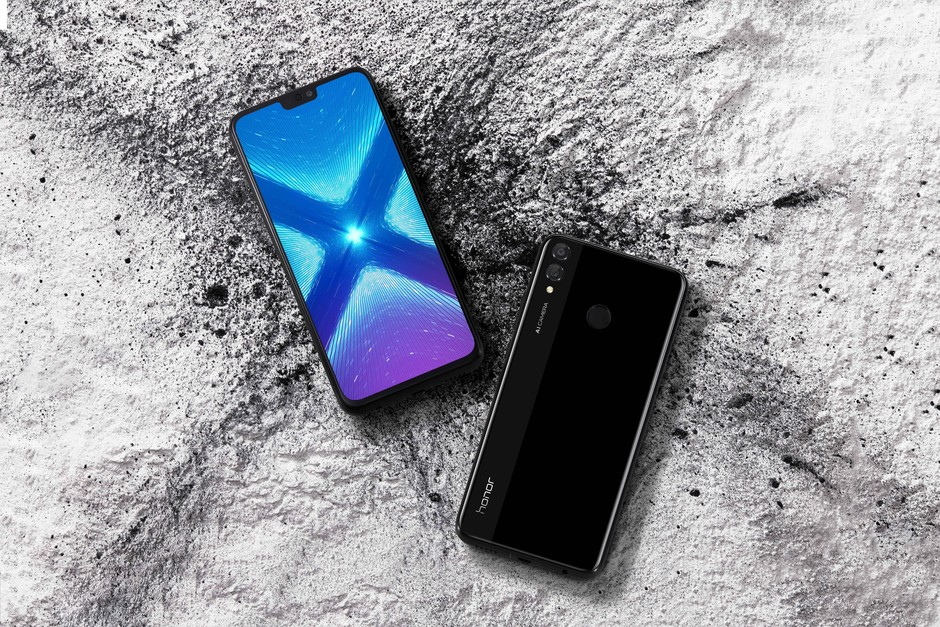 Honor8X_Black