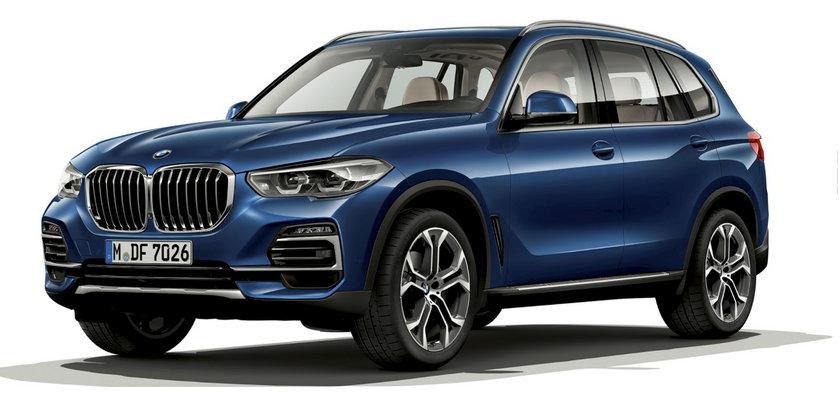 SUV BMW z napędem na 4 koła to ma być jeden z nabytków SOP.