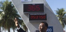 Po wizycie papieża zepsuł się zegar odmierzający czas do MŚ