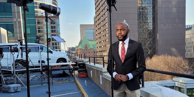 Larry Madowo's reaction as Talented Huruma Kids re-create his video reporting on Live TV | Pulselive Kenya