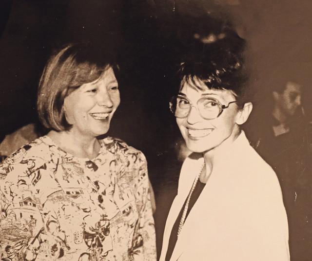 Sa koleginicom Olgom Savić
