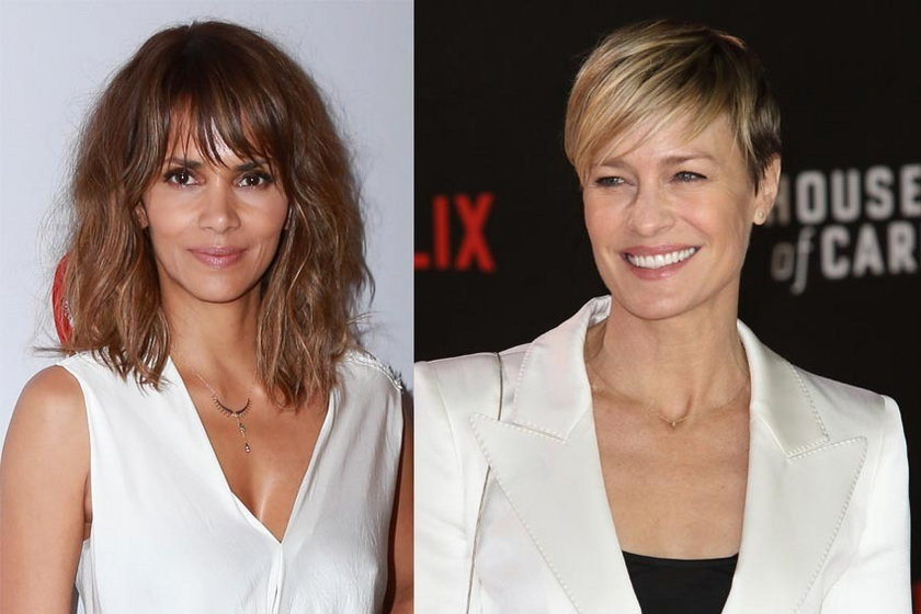48 lat: Halle Berry and Robin Wright