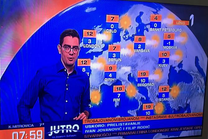 Danilo se pojavio posle 3 meseca, usred Jutarnjeg izvadio OVO i počeo da pokazuje prognozu: Ljudi i dalje TRLJAJU OČI i čude se