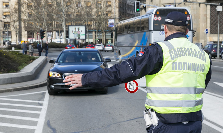 POKRIVALICA POLICIJA saobraćajna policija kontrola