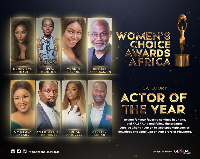 Oprah Winfrey, Wiyaala, Sarkodie, Yvonne Nelson, others nominated for Women's Choice Awards Africa