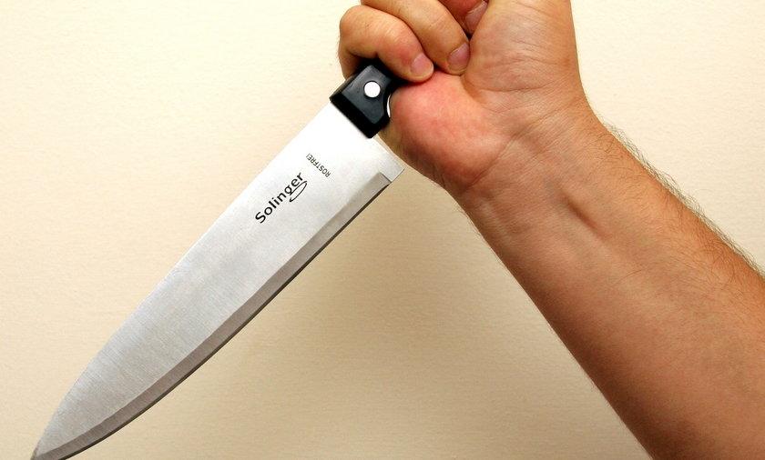 Nóż w ręku