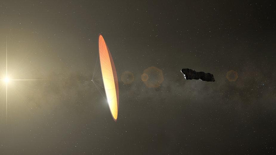 Tak miał wyglądać kosmiczny obiekt o nazwie Oumuamua