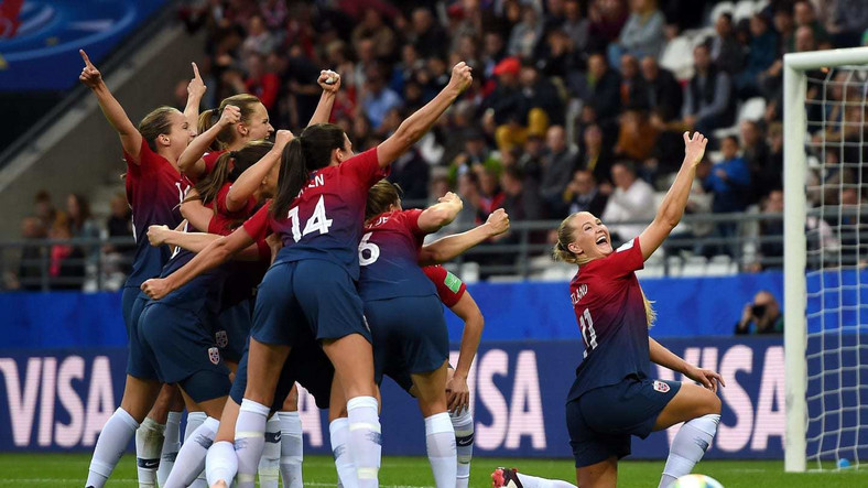 Norway were too strong for the Super Falcons in the Group A game (Getty Images)