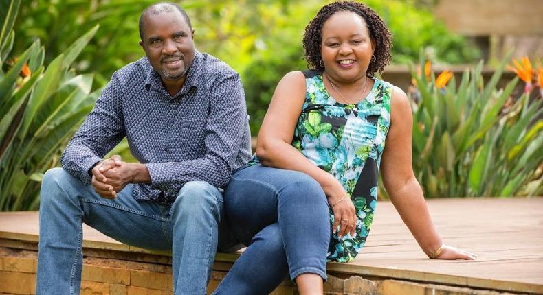 Anne Waiguru with her husband Waiganjo Kamotho. Anne Waiguru shares 5 key life lessons as she turns 50