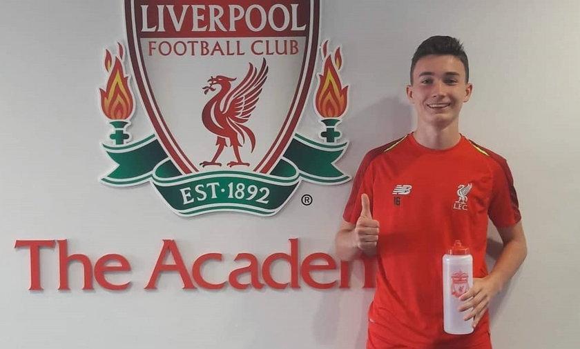 Mateusz Musiałowski wiosną zachwycił szefów FC Liverpool. 17-latek podpisał kontrakt z klubem z Premier League