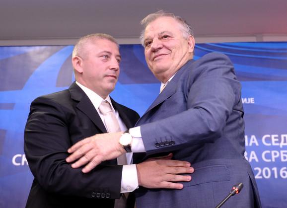 Slaviša Kokeza i Tomislav Karadžić