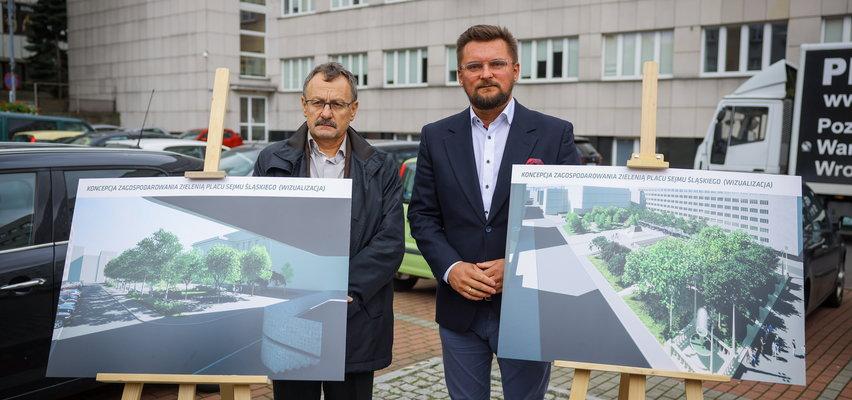 Prezydent Katowic walczy z betonozą.  Na początek bierze się za plac Sejmu Śląskiego