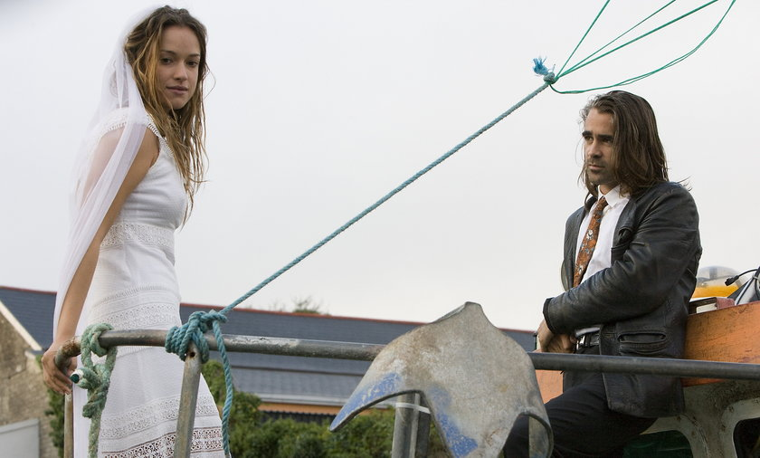 Alicja Bachleda-Curuś i Colin Farrell.