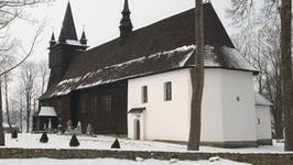Unikatowe kurtyny wielkopostne w kościele w Orawce tylko przez tydzień