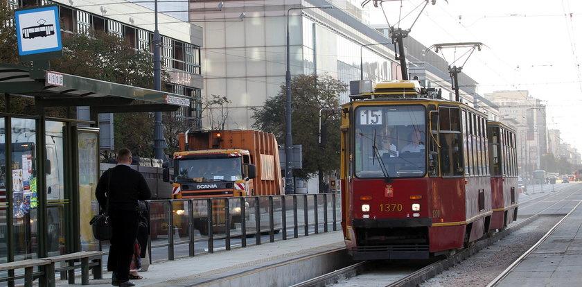 Zderzenie tramwajów w Warszawie