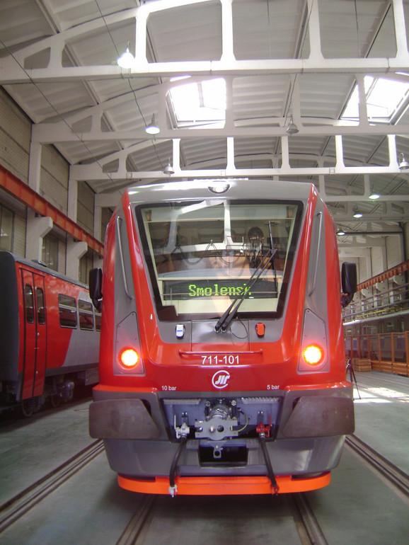Prvi vozovi biće pušteni u saobraćaj posle Nove godine