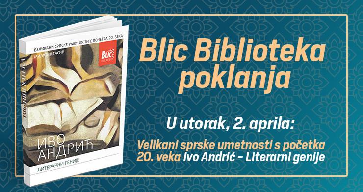 Blic biblioteka vam poklanja knjigu i ovog utorka