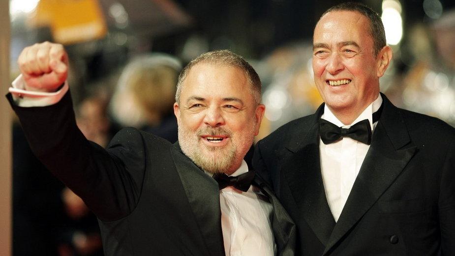 Uli Edel  i Bernd Eichingel na BAFTA Awards