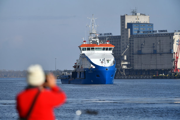 Statek wielozadaniowy Planeta I w Szczecinie