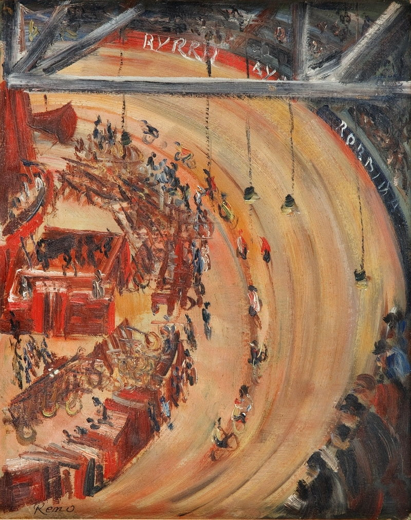 "Irena Reno - ""Velodrome a Paris"""