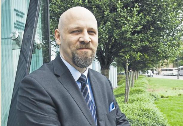 Piotr Waglowski prawnik, autor serwisu VaGla.pl Prawo i Internet/ fot. Wojtek Górski
